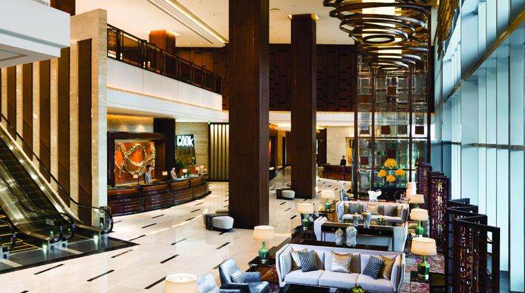 PropertyImages KerryHotelPudongShanghai Shanghai Hotel PublicSpaces Lobby CreditShangriLaHotelsandResorts
