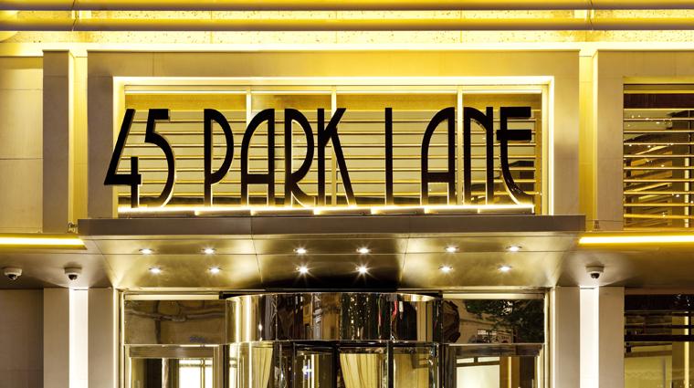 Property 45ParkLane Hotel Exterior FrontEntrance CreditAdamParker