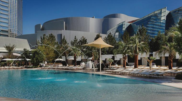 Property ARIA LasVegas Pool CreditMGMResortsInternational