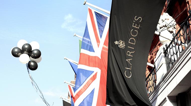 Property Claridges 5 Hotel Exterior Flags CreditMaybourneHotelGroup