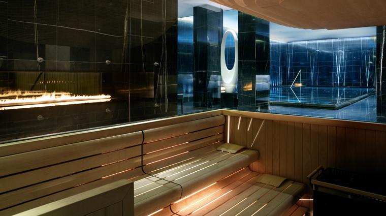 Property ESPALifeatCorinthia 3 Spa Style Sauna CreditRichardPowes