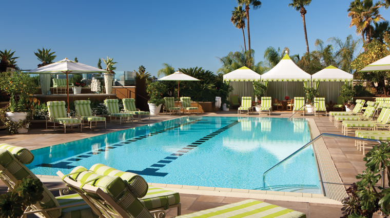 Property FourSeasonsHotelLosAngelesatBeverlyHills LosAngeles Hotel Pool creditFourSeasonsHotelLosAngelesatBeverlyHills