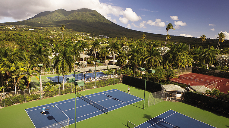 Property FourSeasonsResortNevis Hotel Activities TennisCourts CreditFourSeasonsHotelLimited