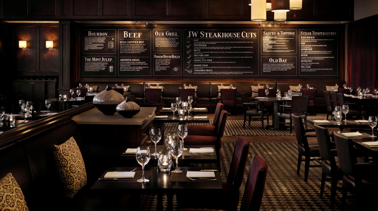 Property GrosvenorHouse AJWMarriottHotel 4 Hotel Restaurant JWSteakhouse CreditMarriottInternationalInc