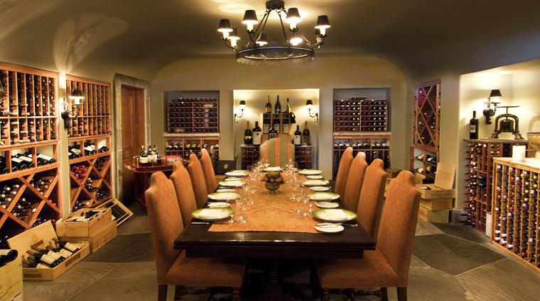 Property MadisonsRestaurantandWineGarden Restaurant Basics PrivateWineCellar CreditOldEdwardsInnandSpa