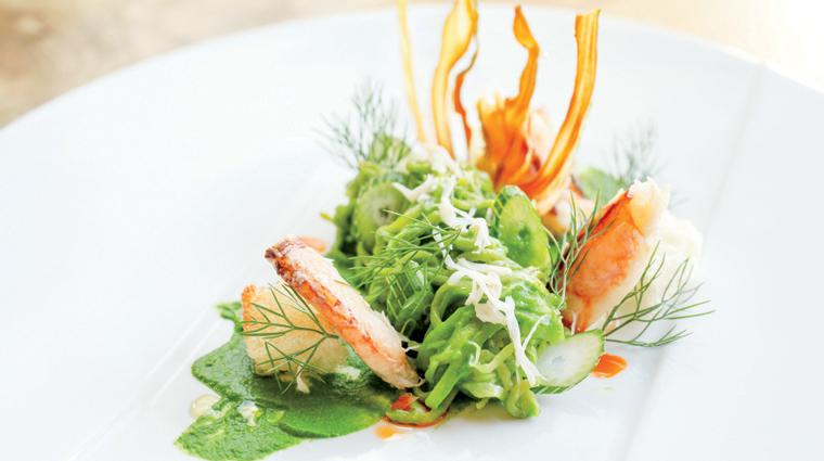 Property Parallel37 Restaurant Food DungenessCrab GreenTomato ThaiBasilLinguini Credit MichelleWalker