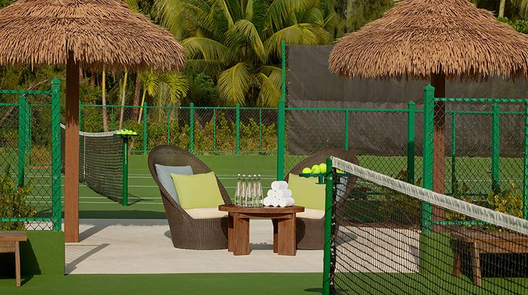 Property StRegisBahia Hotel PublicSpaces tenniscourt StarwoodHotels