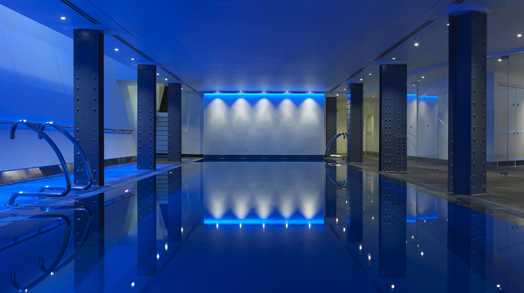 Property TheHealthClubatOneAldwych 1 Spa Style Pool PoolOverview CreditOneAldwych