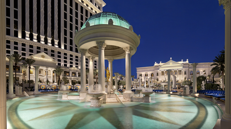 Property TheLaurelCollectionbyCaesarsPalace 9 Hotel Pool TemplePool CreditCaesarsLicenseCompanyLLC
