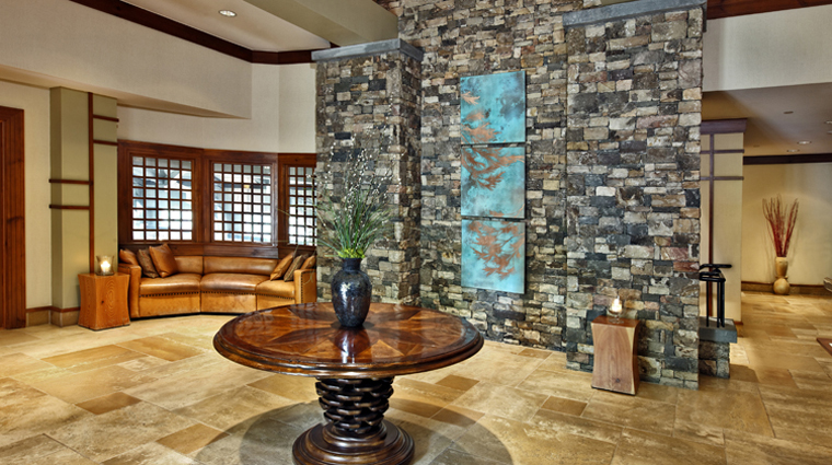 Property TheRitzCarltonLodgeReynoldsPlantationSpa 2 Spa Style Lobby CreditTheRitzCarltonHotelCompanyLLC