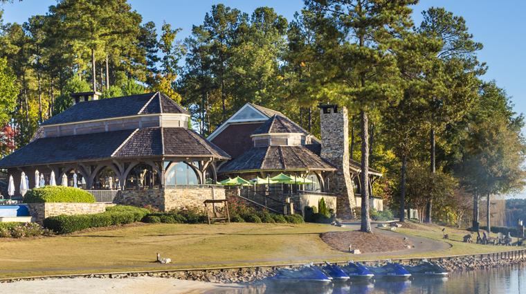 Property TheRitzCarltonLodgeReynoldsPlantation 9 Hotel Exterior GabysByTheLake CreditTheRitzCarltonHotelCompanyLLC