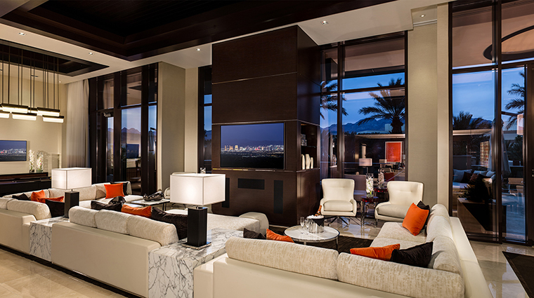 Red Rock Casino Resort and Spa Grand Suite livingroom