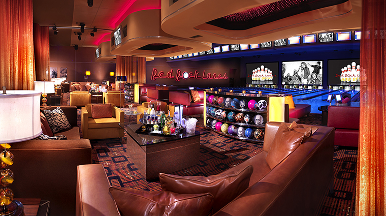 Red Rock Casino Resort and Spa VIP bowling