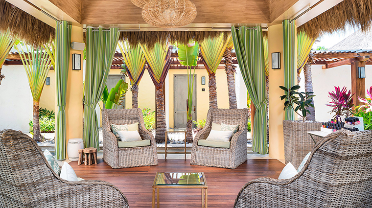 Remede Spa Punta Mita relaxation island chairs