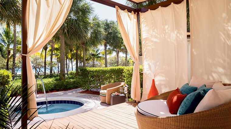 Ritz Carlton Bal Harbour cabana