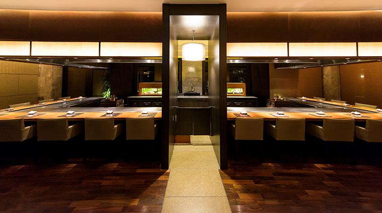 Ritz Carlton Okinawa Teppanyaki restaurant