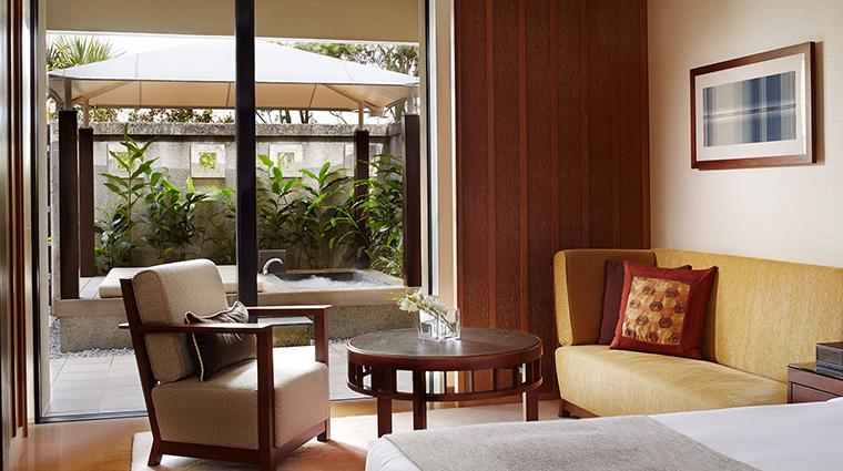 Ritz Carlton Okinawa cabana room