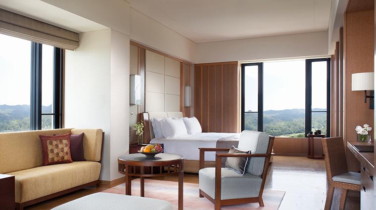 Ritz Carlton Okinawa deluxe room angle
