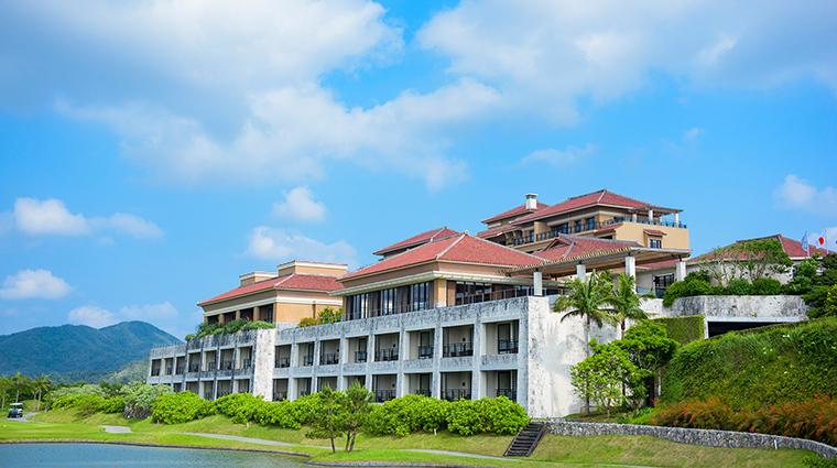 Ritz Carlton Okinawa exterior closeup