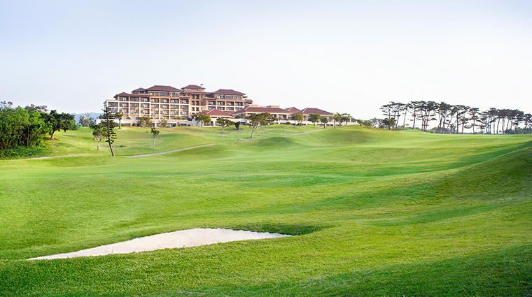 Ritz Carlton Okinawa exterior golf course