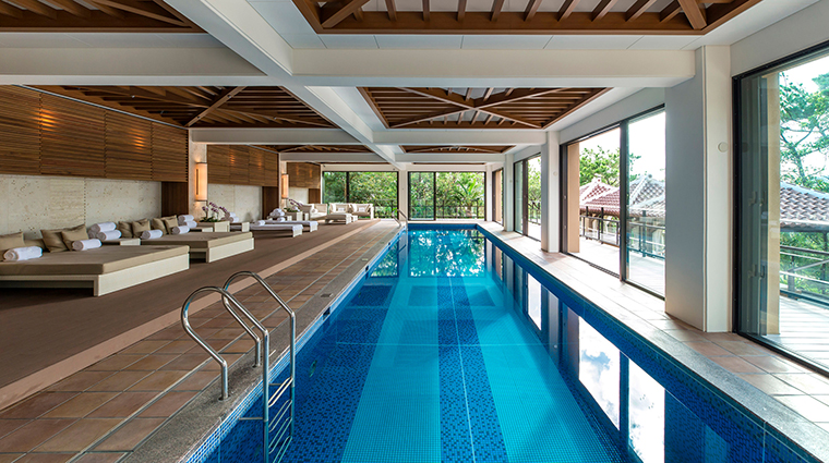 Ritz Carlton Okinawa indoor pool