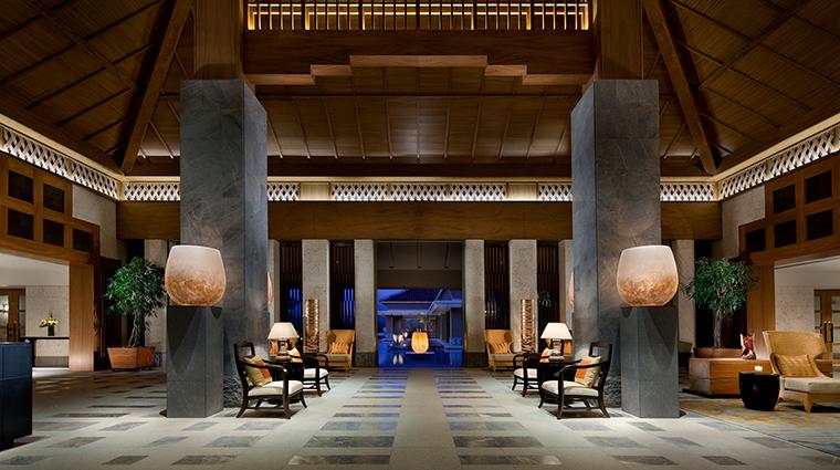 Ritz Carlton Okinawa lobby