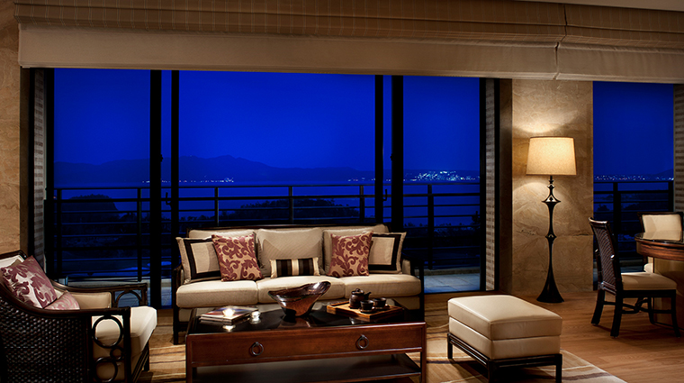 Ritz Carlton Okinawa presidential suite living room