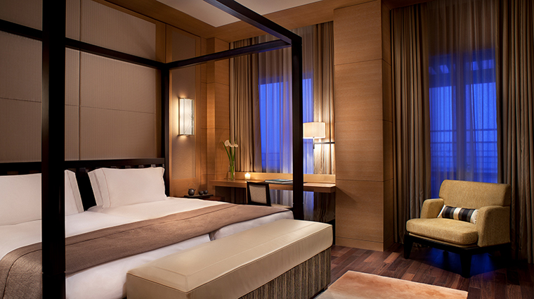 Ritz Carlton Okinawa suite bed room