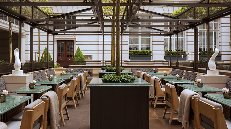 Rosewood London the terrace