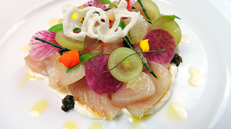 SLS South Beach Bazaar Restaurant YellowTail Hamachi