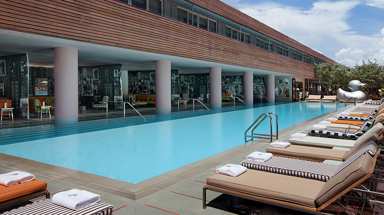 SLS South Beach Guest Pool East