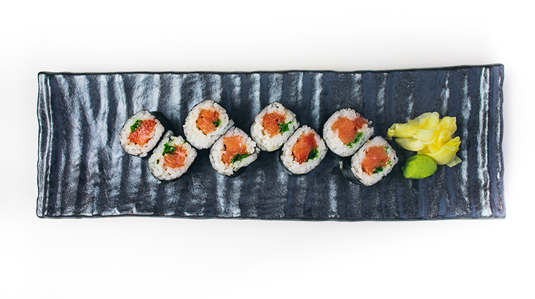 SLS South Beach Katsuya Restaurant negi toro roll