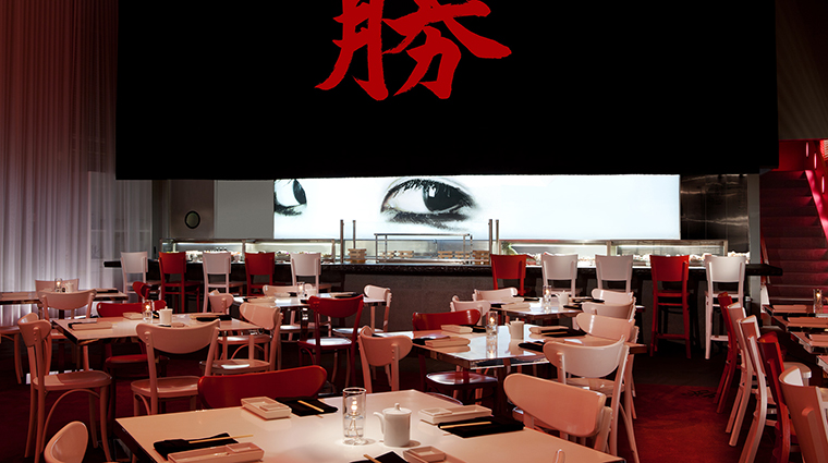 SLS South Beach Katsuya Restaurant sushi bar