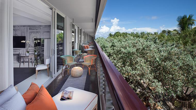 SLS South Beach Villa Balcony