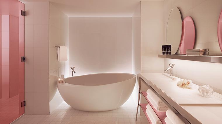 SLS South Beach Villa Bathroom