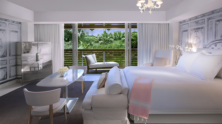 SLS South Beach Villa Bedroom View