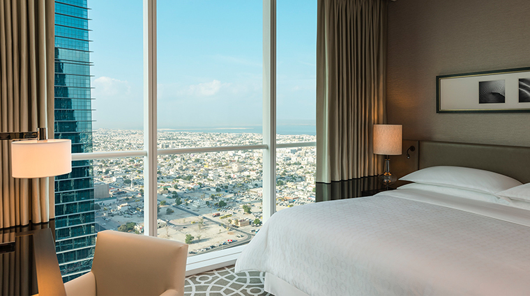 Sheraton Grand Hotel Dubai deluxe two bedroom apartment