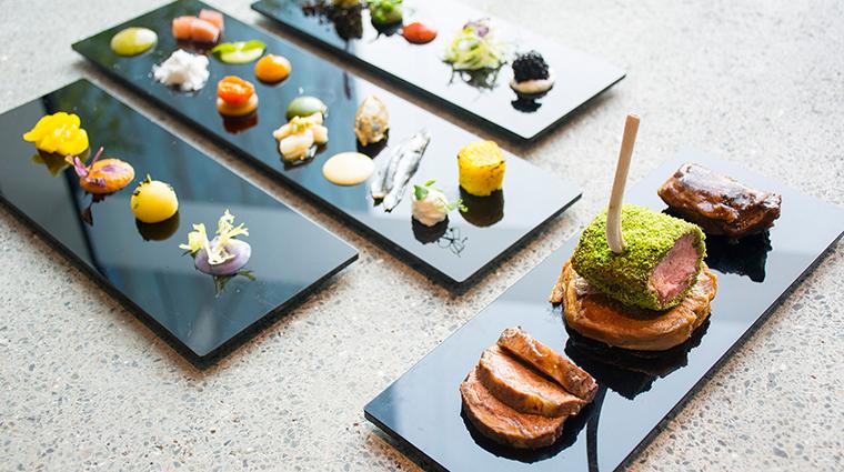 Sheraton Grand Hotel Dubai lamb signature dish