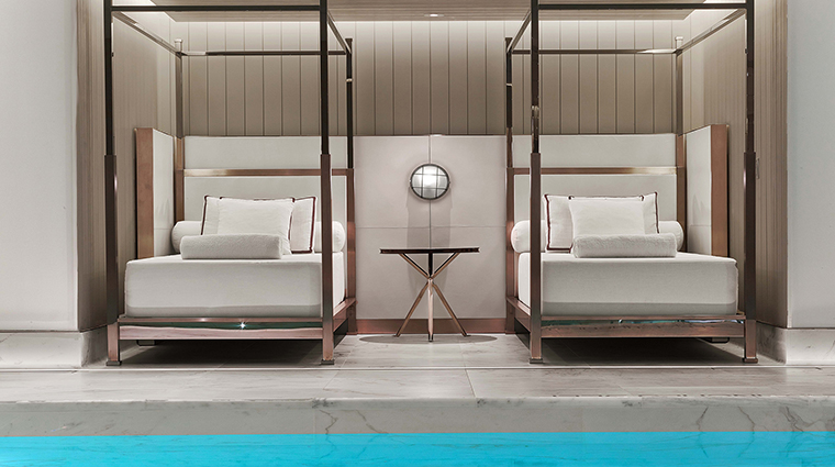 Spa la mer at baccarat new york daybeds