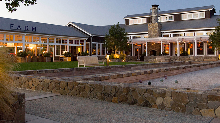The Carneros Inn Farm Restaurant exterior