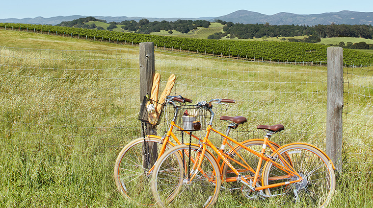 The Carneros Inn bike