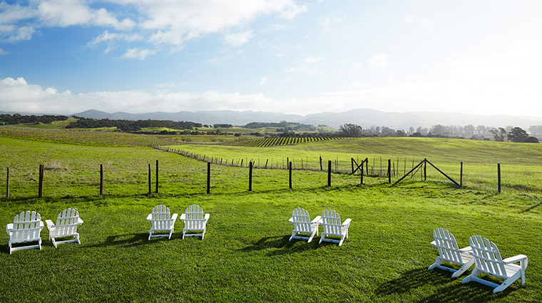 The Carneros Inn view