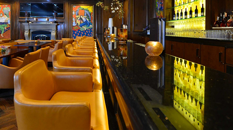 The Garden City Hotel bar
