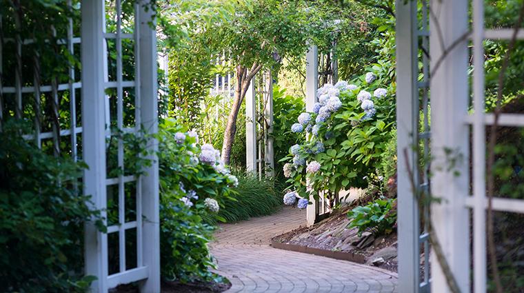 The Garden City Hotel garden