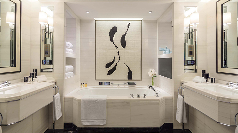 The Peninsula Beijing deluxe bathroom
