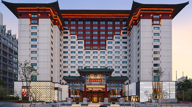 The Peninsula Beijing exterior