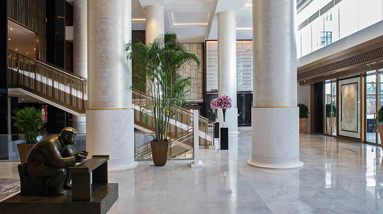 The Peninsula Beijing lobby