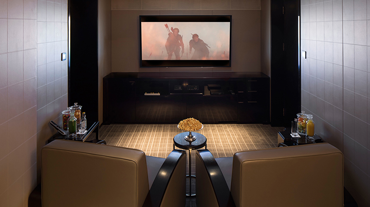 The Peninsula Beijing suite movie room