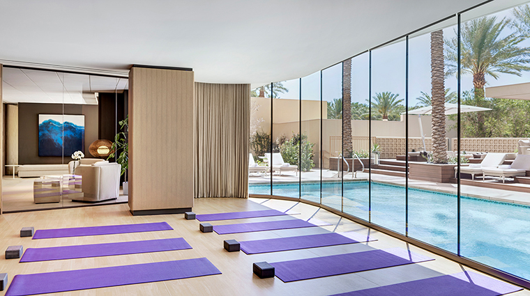 The Red Rock Spa by Well Being yoga studio