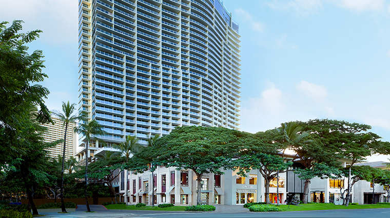 The Ritz Carlton Waikiki exterior
